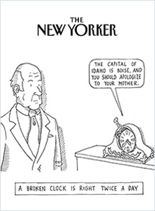 Advertise In A Local Magazine - The New Yorker - U.S.A.