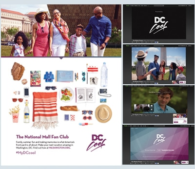 Destination DC Case Study - Local Magazine & Digital Media Advertising