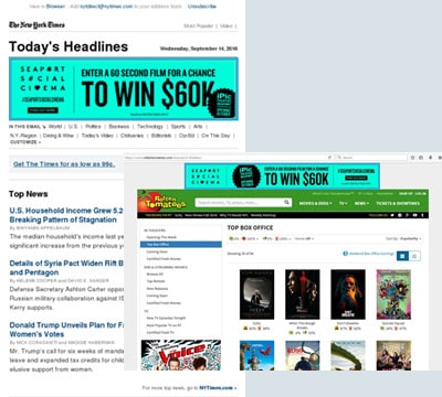 South Street Seaport Case Study - Programmatic Display/Mobile Blend & Newsletter Display Advertising