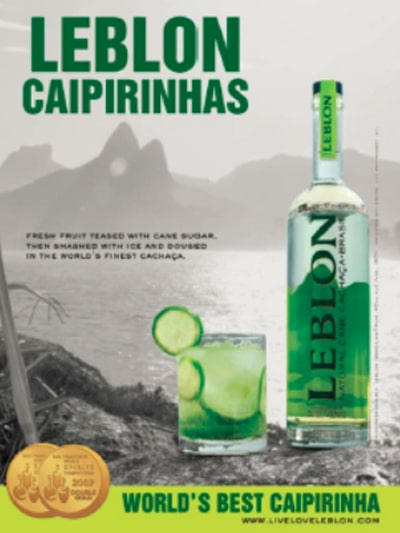 Leblon Cachaça Case Study - Local Print Magazine & Digital Media Advertise in Golf Digest, GQ, The New Yorker, Vanity Fair, Vogue & Wired